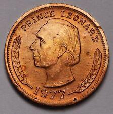 1977 Hutt River 10 Cents Coin  Leonard I  X# 2  BU RARE