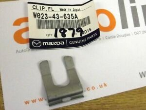 Brake line & handbrake cable clip, genuine Mazda MX5 Eunos MX-5 mk1 mk2, new OEM