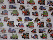 LORRY GIFT WRAP WRAPPING PAPER FODEN BEDFORD AEC ERF FORD ATKINSON BORDERER