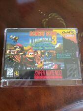 Donkey Kong Country 3 (Super Nintendo) SNES Factory Sealed NEAR MINT