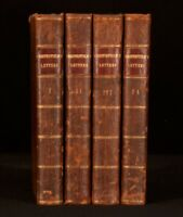 1774 4 Vols Letters by Dormer Stanfield Earl of Chesterfield First Edition