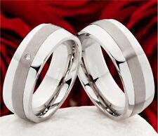 Unisex Modeschmuckstücke Edelstahl mit Diamant