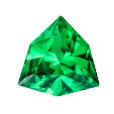 6.8ct Dark Tsavorite Mint Green Garnet (YAG) Lab Created Loose Stone