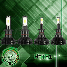 Headlight Bulb Combo Hi Lo Beam H1 H7 for Smart Fortwo 05-07 Kia Optima 06 07