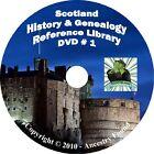 228 old books  SCOTLAND History & Genealogy Family Tree Clans