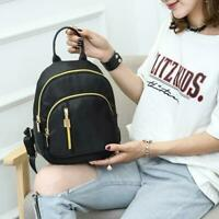 Fashion Women Waterproof Small Backpack Travel Hiking Nylon Handbag Shoulder Bag