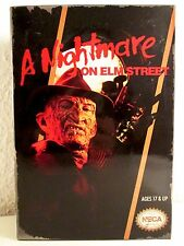 NECA A NIGHTMARE ON ELMSTREET - Video Game Appearance NIB Freddy in DISPLAY BOX