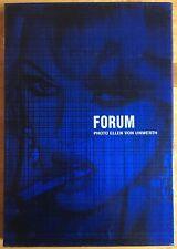 RARE Signed ELLEN VON UNWERTH 24 Hours Forum Catalogue 1996 HB