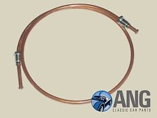 MGB, MGB-GT '62-'80 COPPER CLUTCH PIPE & END FITTINGS AHH6362C