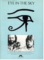 "THE ALAN PARSONS PROJECT ""EYE IN THE SKY"" SHEET MUSIC-PIANO/V/CHORDS-1982-NEW!!"
