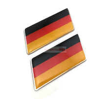 2PCS ABS Germany Flag Trunk Rear Emblem Badge Sticker Decal For BMW Mini