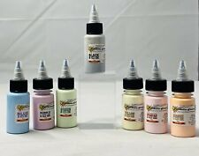 Starbite Tattoo Ink ICE Set 7 colors Green Purple Red Black Orange Yellow USA