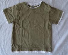 T-shirt vert manches courtes pour garçons, In Extenso, 24 mois (86 cm)