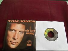 "TOM JONES ""I (Who Have Nothing)"" w/Pic Parrot 40051"