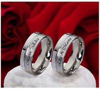 2 Eheringe Trauringe Verlobungsringe & kostenloser Aussenlasergravur   E957