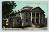 Whittier, CA - EARLY 1900s VIEW OF FIRST CONGREGATIONAL CHURCH - POSTCARD