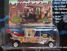 JL Munsters Koach Coach Silver Chrome Chase Show Exclusive George Barris 1/64