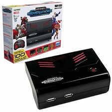 Retro-Bit Generations Plug and Play Retro Game Console Built-in 100 Games