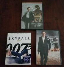 James Bond 007 Daniel Craig Lot  Casino Royale , Quantum Of Solace & Skyfall