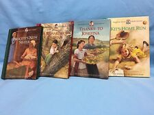 "American Girls Short Stories Lot Of 4 Hardcover 4"" x 6"" Josefina Kit Felicity"