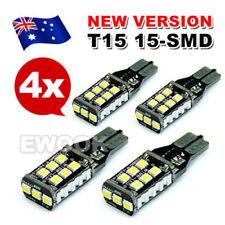 4 X T10 T15 LED Light Parker Wedge 7.5W 921 Bulb CANBUS Error Free 800 Lumens AU