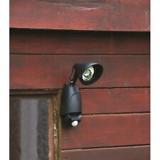 Kingfisher SL1SEC Solar Powered 9 LED Security Light With PIR - Black