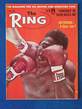 The Ring - Boxing Magazine - May 1962 - Floyd Patterson Cover
