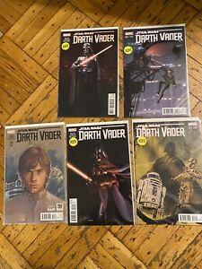 Darth Vader #3 1:25 Larroca Variant 1st Doctor Aphra Marvel NM Comics Book Lot