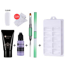 Nail Tips Extend Tool Poly Builder Gel Set Nails Kit UV Gel French Nail Manicure