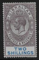 Gibraltar Scott #72, Single 1912 FVF MH
