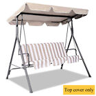 """77"""" x 43"""" Swing Top Cover Porch Garden Hammock Canopy Replace Cover Replacement"""