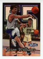 1998-99 Flair Showcase JASON WILLIAMS Rookie Card RC ROW 2 #55 Sacramento Kings