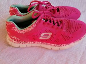 Skechers Skech-knit pink Air-cooled Memory Foam -  Size US 8 Pre-Owned