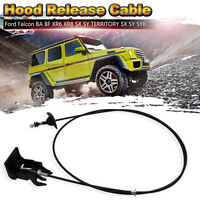 Hood Release Cable 5R2Z16A665AB For Ford Falcon Fairmont XR6 XR8 BA BF SX SY SY2