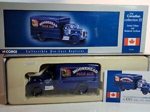 "Corgi US52309 Mack B Box Van ""Moosehead"" Pale Ale Ltd Edition"