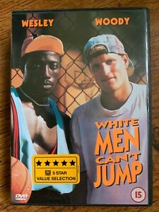 White Men Can't Jump DVD 1992 Basketball Comedy Movie Classic w/ Woody + Wesley