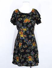 Vero Moda antique floral style tea day garden party dress size 12 RRP £22