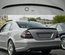 Spoiler Querruder Mercedes Benz Klasse E W211 Limousine Schwarz Helligkeit