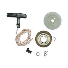 Recoil Spring 4116 190 0600,Starter grip with Rope for Stihl FS160 FS220 FS280