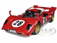 ELITE FERRARI 512 S #28 1970 DAYTONA 1:18 DIECAST MODEL CAR BY HOTWHEELS N2047