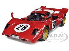 ELITE FERRARI 512 S #28 1970 DAYTONA 1:18 DIECAST MODEL CAR BY HOTWHEELS N2047