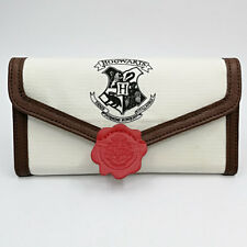 Harry Potter Hogwarts Letter Flap Wallet Long Student Purse