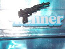 1984 1985 Star Wars A Wing Pilot Imperial Death Star Gunner BLACK blaster gun ~~