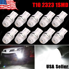 10 pcs 2016 NEW White T10 194 159 Wedge High Power 1W LED Light Bulbs US