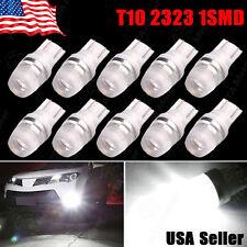 10 pcs 2016 NEW White T10 194 159 Wedge High Power 1W LED Light Bulbs US