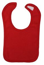 Red Interlock Bib