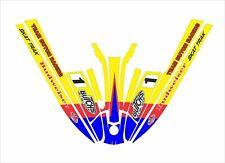 kawasaki 440 550 sx  js jet ski wrap graphics pwc stand up decal butch yellow 1