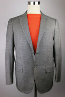 Mens Isaia Napoli Gray Houndstooth Wool Cashmere Sport Coat Dual Vent Italy 40R