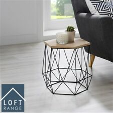 Loft Range Hexagon Wire Side Table | Stylish | Contemporary | Modern