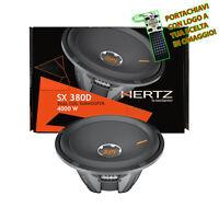 Hertz SX380D Sub Subwoofer 4000W 38 CM Linea SPL SHOW Doppia Bobina 2+2 Ω